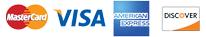 Visa-Master Card-American Express-Discover